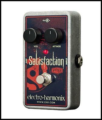 Electro-Harmonix SATISFACTION Fuzz Guitar Effects Pedal New