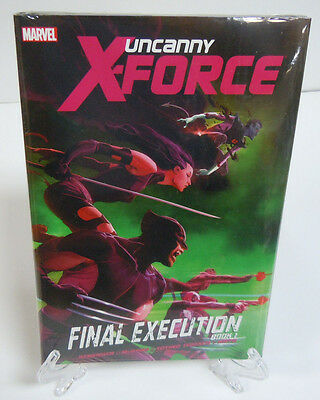 Uncanny X-Force Final Execution Book 1 Remender Marvel HC Hard Cover New Sealed