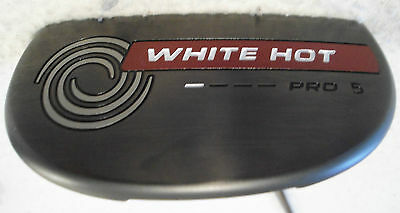 "Odyssey White Hot Pro #5 34"" Heel-Shafted Mallet Putter"