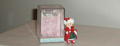 Christmas Holly, Miniature Figure,1998, Madame Alexander with display case