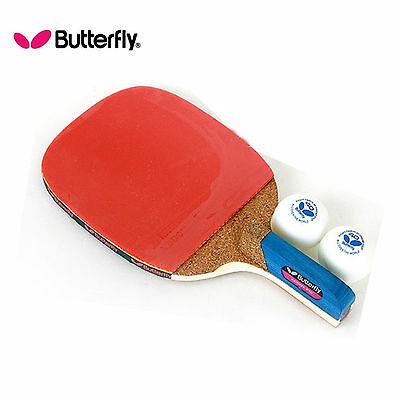 Butterfly ADDOY-P10 power offensive pen holder racket  2.0mm thicken
