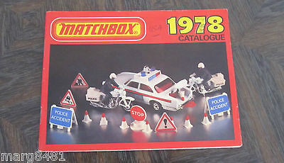 1978 Collector's Catalogue, USA Edition, Matchbox Lesney, Printed in England