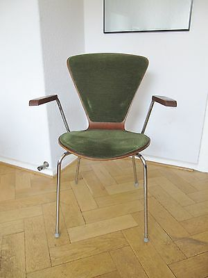 60s Stuhl Easy Chair Armrest Chair  Danish Design  /4