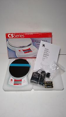 New: Ohaus CS200-001 Portable Digital Scale 200G Capacity
