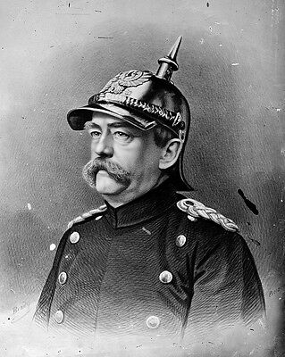 New 8x10 Photo: Minister President of Prussia Count Otto Von Bismarck, Germany
