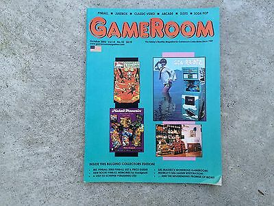 Gameroom Magazine October 2002