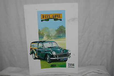"1994 Catalogue ""Days Gone"", Vintage Models, Lledo, England, 24 Pgs, 11"" x 8"""