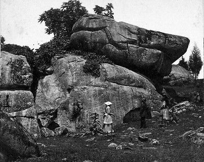 New 8x10 Civil War Photo: Devil's Den Rock Formations, Gettysburg Battlefield