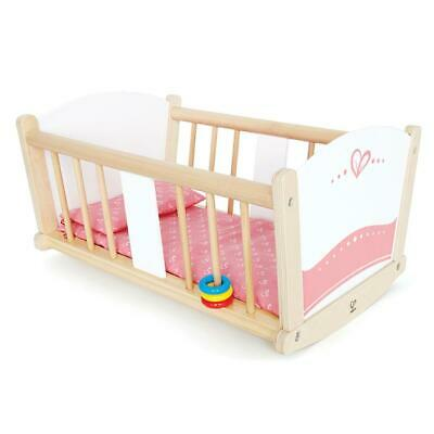 Rock-A-Bye Wooden Baby Doll Cradle - Hape Free Shipping!