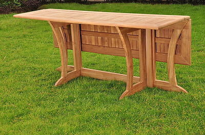"Warwick Grade-A Teak Outdoor Patio Dining 69"" Console Rectangle Table  Furniture"