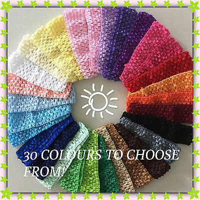 Baby  Girls Toddler - adult  Crochet Hair Head Band Headband buy 4 get one free