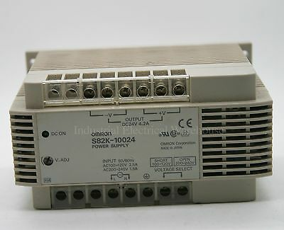 Omron Power Supply 100W 24VDC 4.2A S82K-10024 NNU