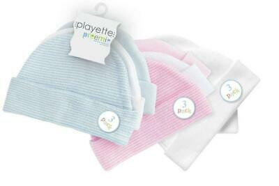 Playette 3 Pack Preemie Caps Free Shipping!