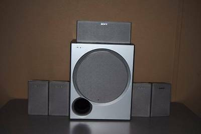 Sony Surround Sound System With Subwoofer & 5 Speakers