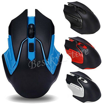 2.4GHz Adjustable 3200DPI Wireless Optical USB Gaming Mouse Mice For PC/Laptop