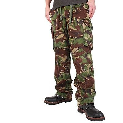 1980s British army camo trousers pants military camouflage cargo combat woodland