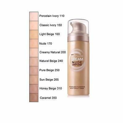 Maybelline Dream Nude Airfoam Foundation - Choose Your Shade