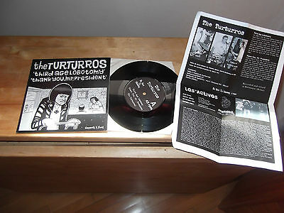 "Turturros-Los Activos ""SAME"" 7"" BE NICE TO MOMMY 2001 - INSERT"
