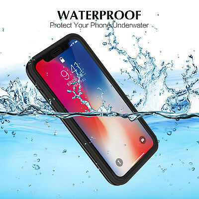 Hybrid Shockproof Rubber Waterproof Phone Case Cover For iPhone 6s 8 X XR XS Max
