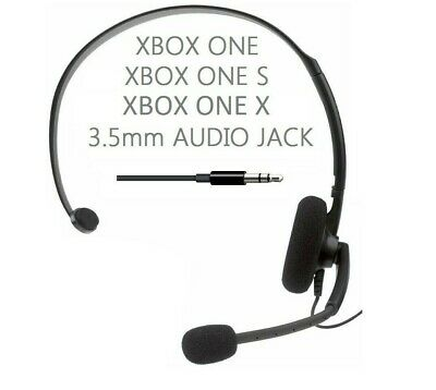 OFFICIAL xBox 360 Gaming Online Chat Headset Headphones Mic for Controller 2.5mm