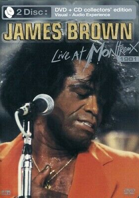 James Brown: Live at Montreux 1981 [DVD/CD] (2006, REGION 1/4 DVD New)