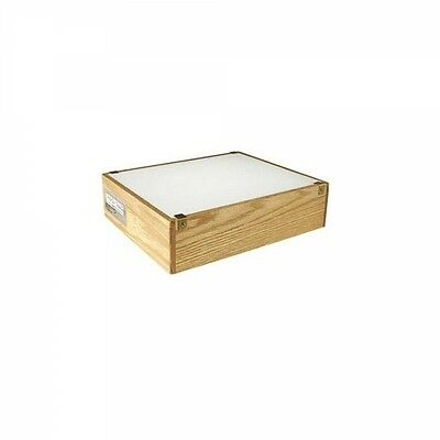 Gagne 12 X 14 OAK with Efficient LED lighting shatter resistant 11X18 Top