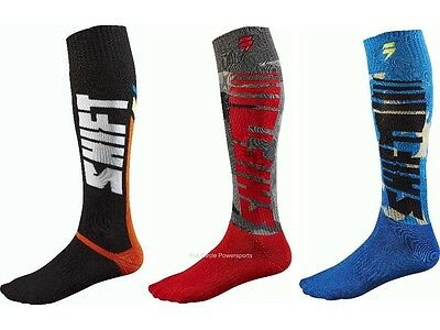 Shift MX Racing Motocross Motorcycle Riding Socks Dirt-Bike Off-Road ATV 2015