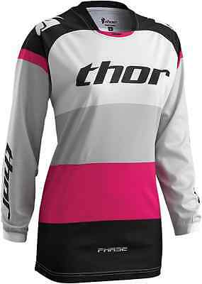 Thor MX S6W Pink Bonnie Riding Jersey Adult Women's Motocross/ATV/OffRoad Gear