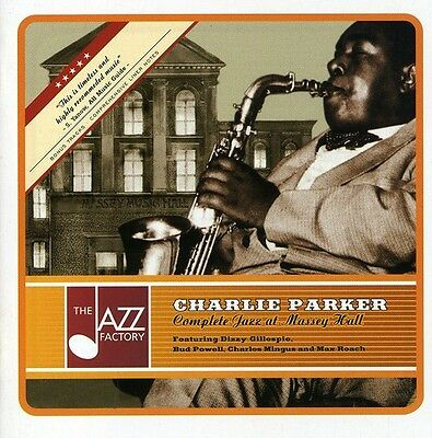 Charlie Parker - Complete Jazz at Massey Hall [New CD]