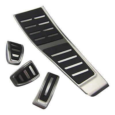 Original Audi Stainless steel Foot rests + Pedal A4 S4 B8 8K / A5 S5 8T / Q5 RHD