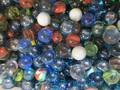 Wholesale Glass Shooter Marbles 20 Pounds 1 INCH diam