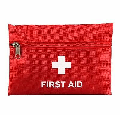 FD4446 Outdoor Camping Hiking Survival Travel Emergency First Aid Kit Bag Red