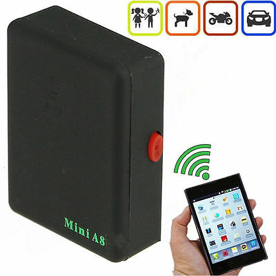 Mini A8 Global Car Kid Safe Locator Real Time GPS Tracker GSM/GPRS Track System*