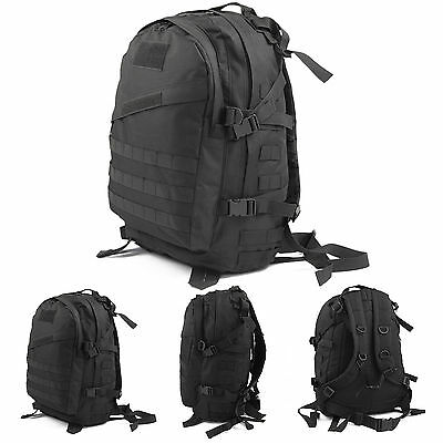 40L Tactical Outdoor Molle 3D Assault Military Rucksacks Backpack Camping bag UK
