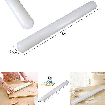 "9"" Non Stick Rolling Pin Baking Cake Pie Decorate Dough Icing Fondant NEW UK"