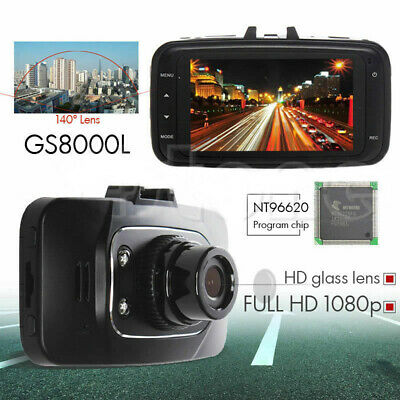 "2X Full HD 1080P 2.7/"" Car Video DVR Camera Recorder Dash Cam NightVision HDMI HM"