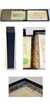 Premier Family History Certificate Box Binder Package