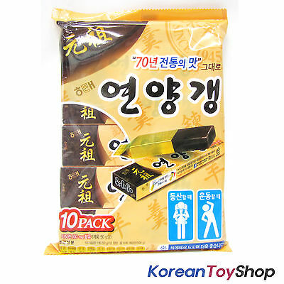 Korean Food HAITAI Sweet Jelly of Red beans 1 Pack (50g * 10ea)