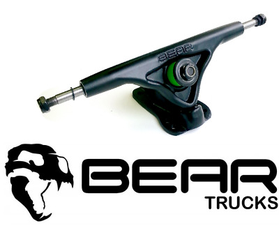 Bear Longboard-achsen Grizzly 852 schwarz (2er Set) Trucks