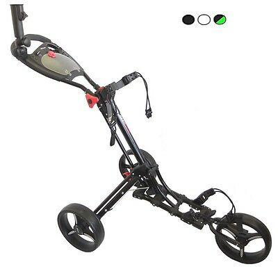 Bullet Easy Fold Deluxe 3 Wheel Trolley by Cruiser Golf