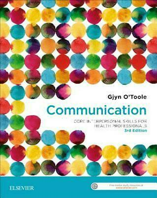 Communication by Gjyn O'Toole Paperback Book