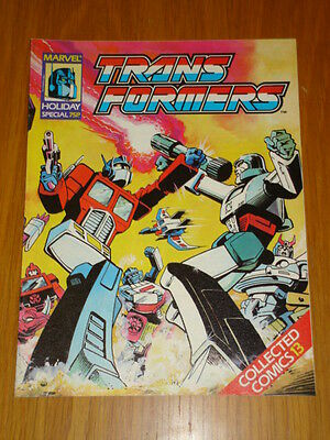 Transformers Holiday Special Collected Comics #13 Marvel July 1989