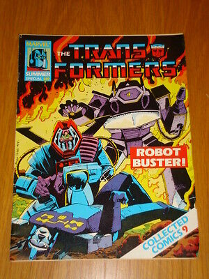 Transformers Summer Special Collected Comics #9 Marvel May 1988