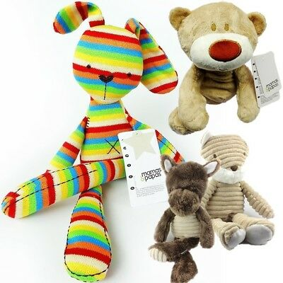 Mamas & Papas Baby Kids Children Soft Stuffed Plush Forest Animals Crib Toy Doll