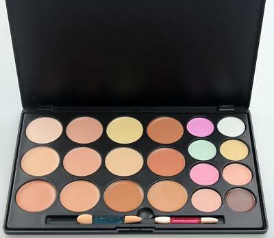 Professional 20 Color Concealer and Contour Palette Makeup up Palette + Brush