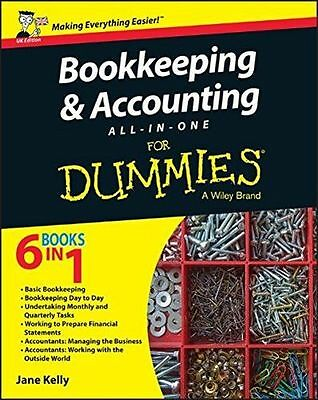 **NEW** - Bookkeeping & Accounting All-in-One For Dummies (PB) - 1119026539