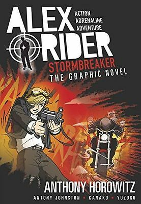 **NEW** - Stormbreaker Graphic Novel (Alex Rider) (PB) - 1406366323