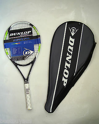 New! Dunlop Maxfil 66 Graphite Tennis Racquet & Thermo Cover Rrp $159
