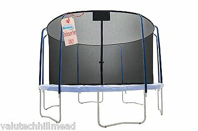Upper Bounce 14' Round Trampoline Net using 8 Curved Poles - Net ONLY