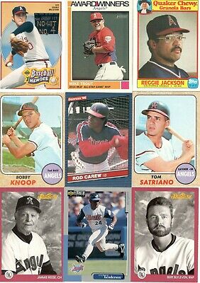 Los Angeles (California, Anaheim) Angels 18-Card Chase Card Collector's Lot
